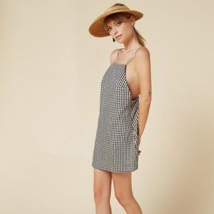 Reformation Linnea Gingham Dress